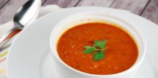 Velouté tomates et poireaux au Thermomix