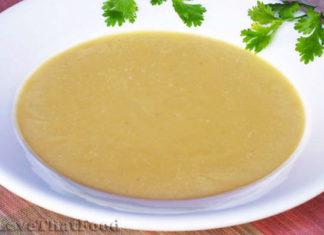 velouté de légumes au thermomix