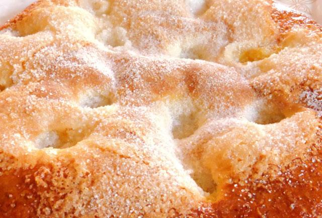 Tarte moelleuse au sucre au Thermomix