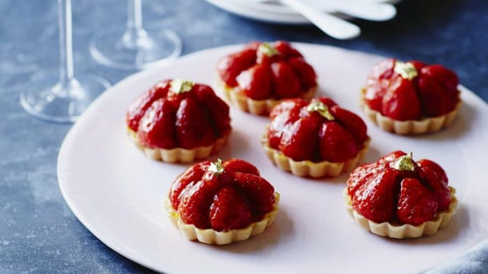 Tartelettes aux fraises au thermomix