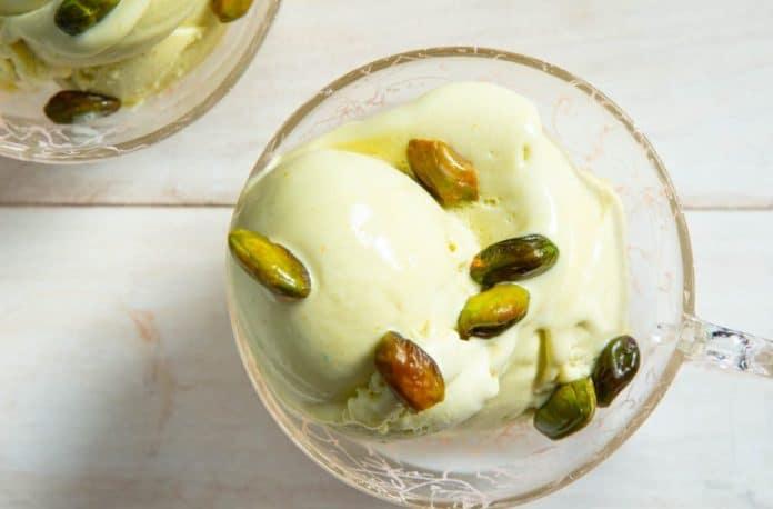 Crème dessert au pistache au thermomix