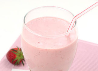 Milkshake aux fraises au thermomix