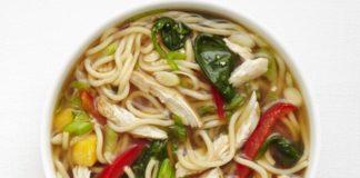 Soupe aux saveurs asiatiques au thermomix