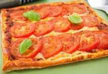 Tarte Tomates et Mozzarella WW