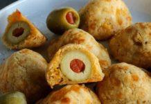 Bouchées d'olives au fromage au Thermomix
