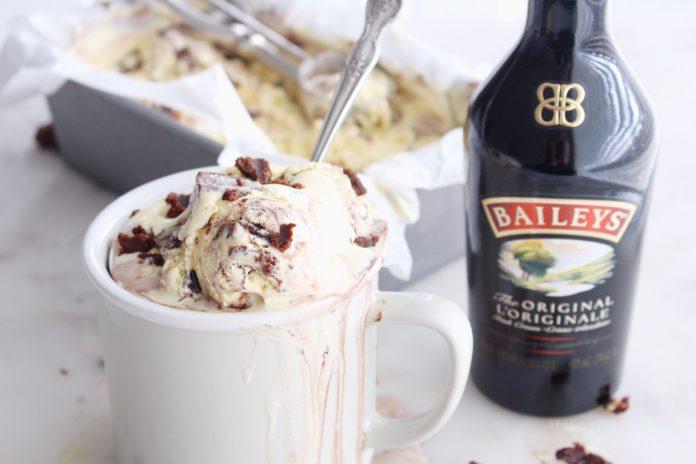Crème Glacée au Bailey's au Thermomix