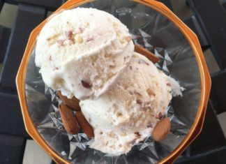 Crème Glacée au Nougat au Thermomix