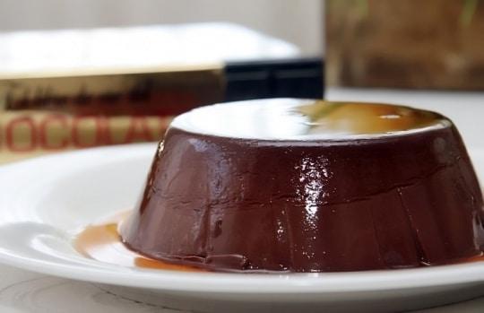 Flan au chocolat ww