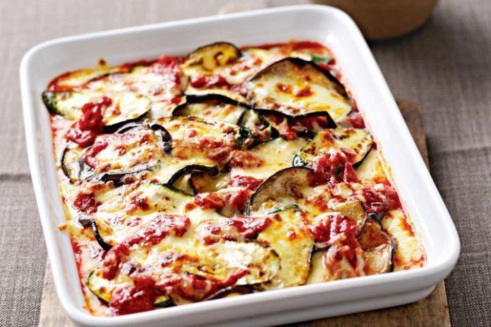 Gratin d'aubergine et mozzarella à la sauce tomate Weight Watchers