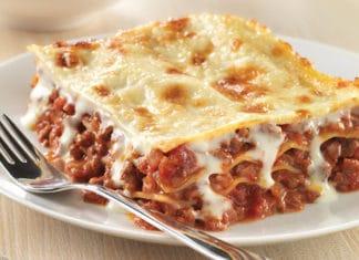 Lasagne viande hachée à la mozzarella Weight Watchers
