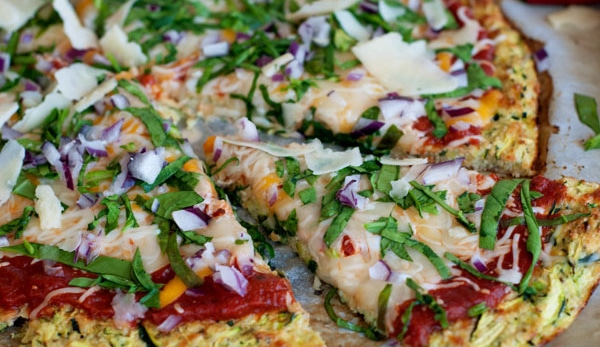 Pâte à Pizza Aux courgettes WW