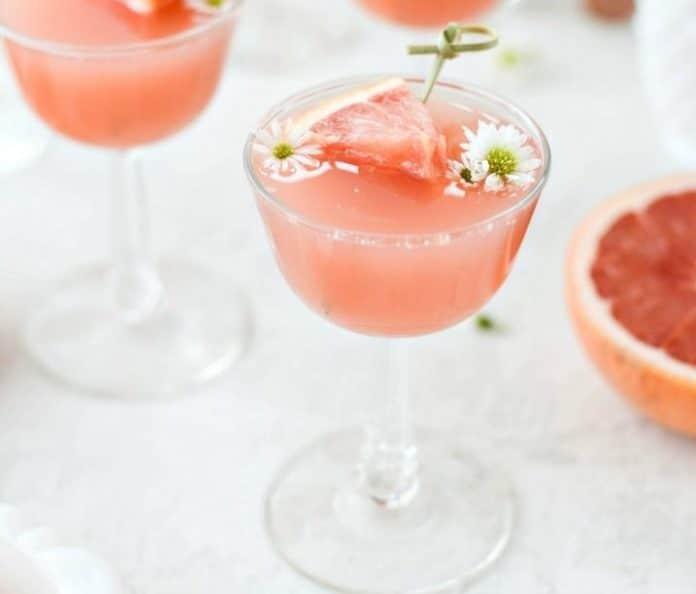 Rosé pamplemousse au Thermomix