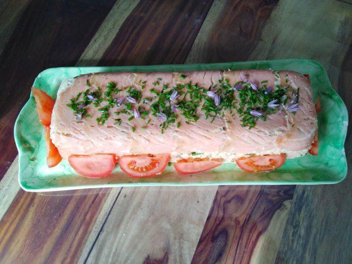 Terrine au saumon au thermomix