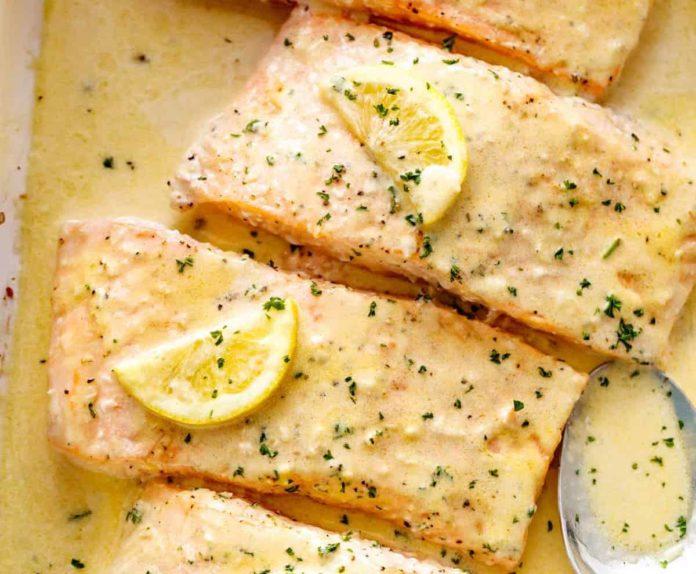 filet de poisson a la creme de citron WW