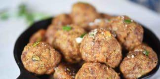 Boulettes de viande aux courgettes Weight watchers