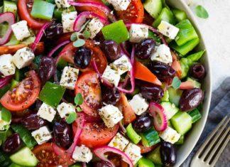 La Salade grecque Weight watchers