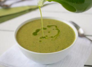 Soupe de courgette et pommes de terre au Thermomix