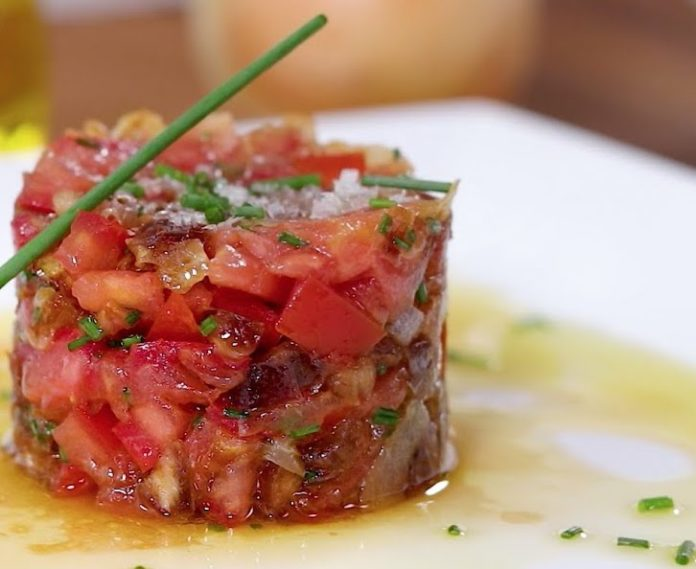 Tartare de tomates au Thermomix