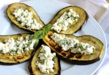 Aubergines à la feta Weight watchers