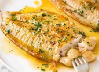 Filets de sole au citron Weight watchers