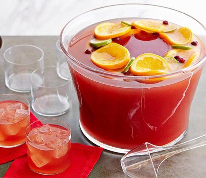 Le cocktail fruité Punch au Thermomix