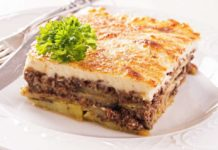 Moussaka grecque Weight watchers