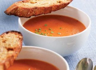 Soupe à la tomate au Thermomix