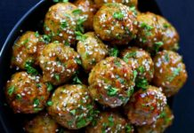 Des Boulettes de viande au brocoli Weight watchers