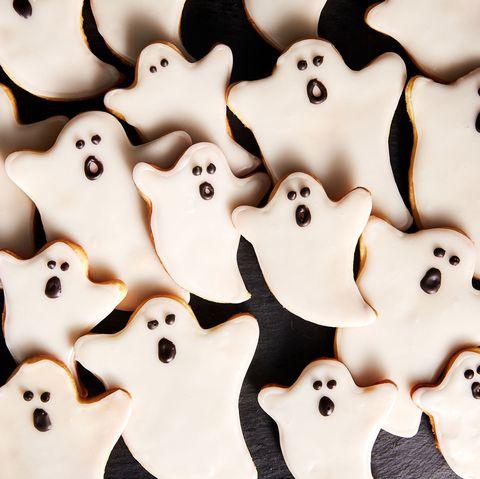 Des sablés fantômes d'Halloween au Thermomix