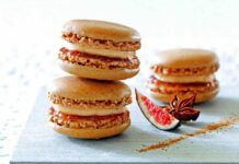 Macarons au foie gras au Thermomix