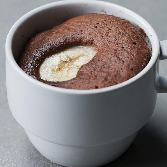 Moelleux au chocolat banane Weight watchers
