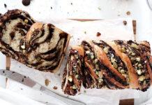 Babka chocolat pistaches au Thermomix