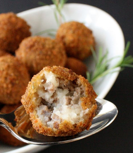 Croquettes de boeuf pomme de terre Weight watchers