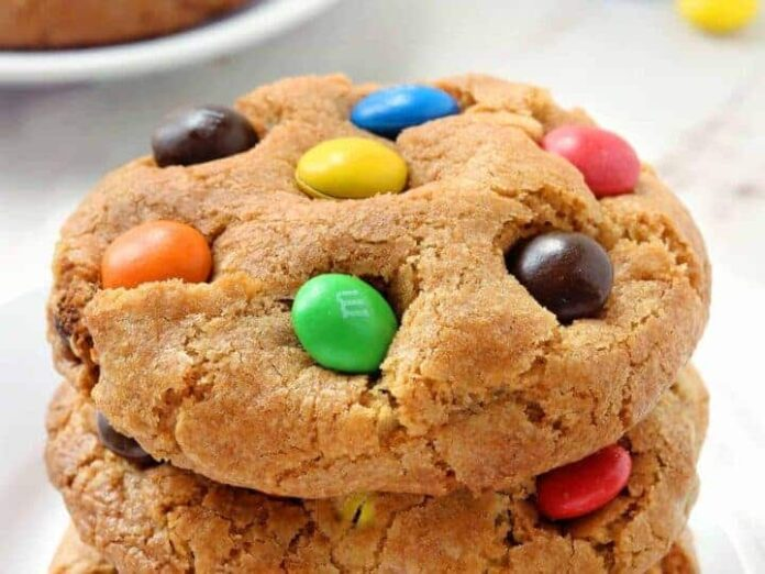 Cookies M&m's cacahuètes au Thermomix