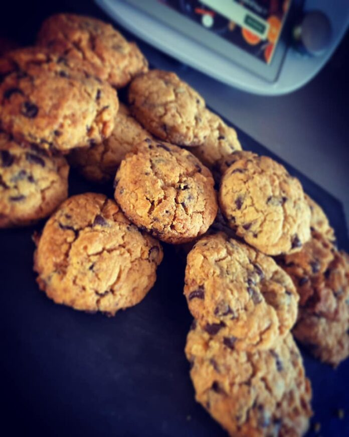 Cookies chocolat cacahuètes au thermomix