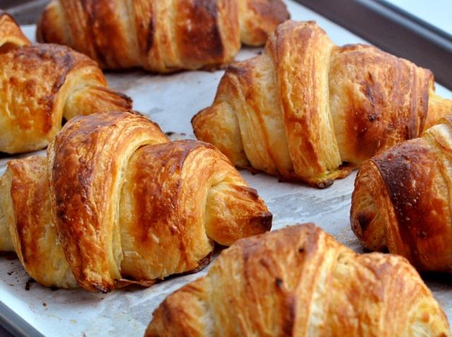 Croissants aux petits suisses Weight watchers