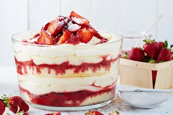 Tiramisu aux fraises au Thermomix